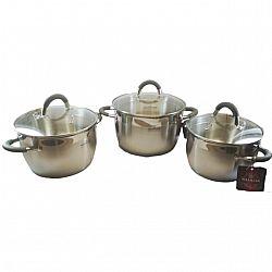 Н-р посуды 6 пр (3каст. 3.0л+4.0л+5.0л, 5сл.капсула, мерная шкала)MK-VS5506B