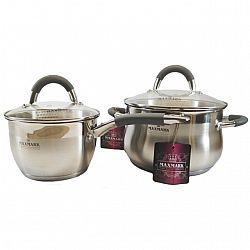 Набор посуды 4 пр (Ковш. 1,5л+Каст.3,0л)MK-SP5510A