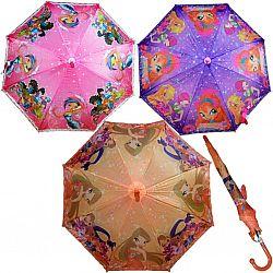 0106 Детский зонт трость  Star Rain полуавтомат,   8 спиц