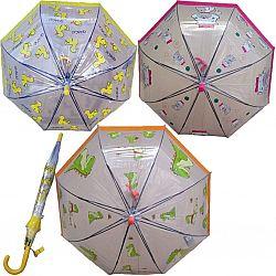 К004 Детский зонт трость Star Rain полуавтомат, 8 спиц