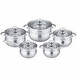 Набор посуды 10 пр. (ковш1.5л; кастр.1,5л-2,0л-3,0л-5.0л ) MK-BL 2510
