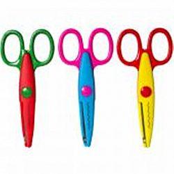 Ножницы «Детские» пластиковые с фигурным лезвием
