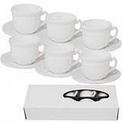 СS-12A White Сервиз стеклокерамика чайный 12пр.В КОРОБКЕ белый 7013100000