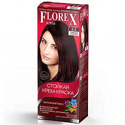 Крем-фарба для волосся Флорекс 2.2 Темний каштан