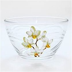 """Салатник д.160мм декор.""""Белая Орхидея"""""""