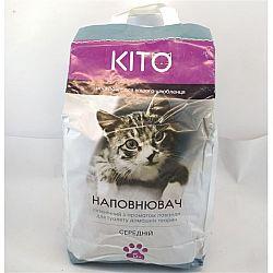 Наполнитель гигиенический  для дом. животных Kito средний 5кг