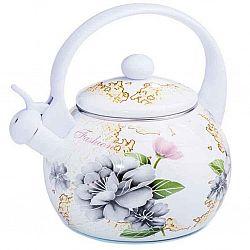 Чайник 2.2л эмалированный со свистком Zauberg Орхидея 5L