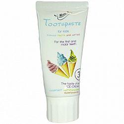 Зубная паста детская 50мл Ice-cream NATURE