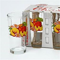 "Набір склянок"" DJUICE "" фрукти 6шт*200мл"
