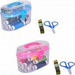 Набор для шитья малый в контейнере 33 предмета 12*8*6см