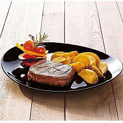 2177 Luminarc Friends Time Black блюдо овальное черное 30см