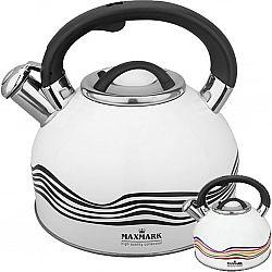 Чайник с свистком из нержав. стали, на 3,0л МК-1309(рисунок-хамелеон)