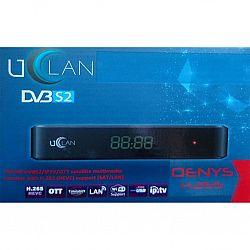Супутниковий тюнер-ресивер HDTV U2C UCLAN Denys H.265 HD прошитый+IPTV+медиаплеер