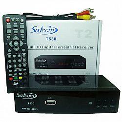 Т2 ресивер тюнер SATCOM T530 + ИНТЕРНЕТ+IPTV(металл.корпус)