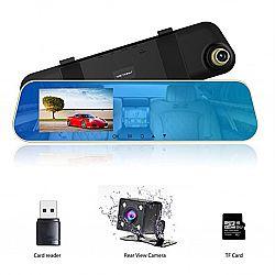 Автомобильное зеркало заднего вида+видеорегистратор Car--DVR L9000-2JR