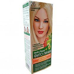 Крем-фарба для волосся Фіто лінія №26 Скандинавський блонд