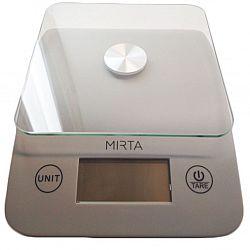 Весы кухонные Mirta SK-3005 до 5кг(серые со стекл.платформой)