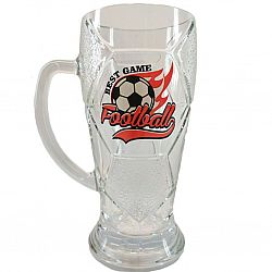 "Бокал для пива ЛИГА ""Football"" 500мл"