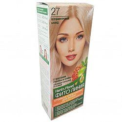 Крем-фарба для волосся Фіто лінія №27 Перламутровий блонд