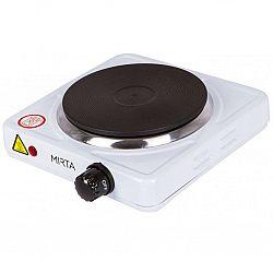 Электроплита 1конфорка 1000Вт Mirta НР-9910(белая панель,конфорка 1000Вт,d-155мм
