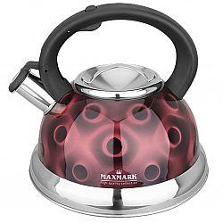 Чайник с свистком из нержав. стали, на 3,0л МК-1320
