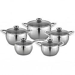 Набор посуды 10 пр. (ковш1.5л; кастр.1,5л-2,0л-3,0л-5,0л ) MK-АРР 7510