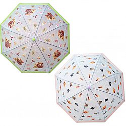 034 Детский зонт Star Rain полуавтомат+свисток, 8 спиц