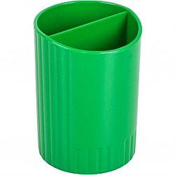 Стакан для письменных принадлежностей КиП 7*9см зеленый