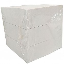 Блок для записей офсетный Белый 90*90*90