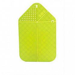 Доска разделочная пластик гибкая 26*40см  0,3см с ситом