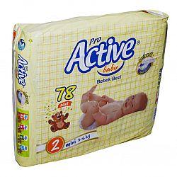 Подгузник Pro Activ №2 78шт)