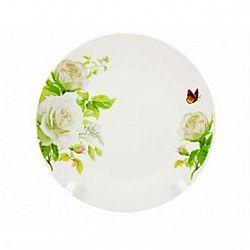 18-031С Тарелка глубокая суповая №8 d-20 Белая роза