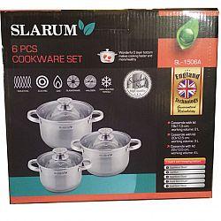 Набор посуды 6 пр (каст. 2л+каст 3л+каст.4л) SL-1506A