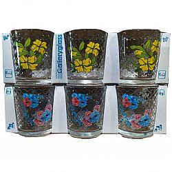Набор стаканов 6шт*250мл Нежные цветы