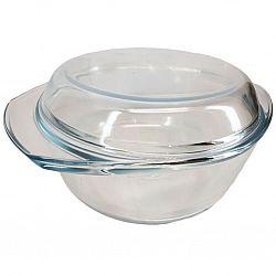 4214 Жаропрочная стеклянная кастрюля объемом 2,5 л