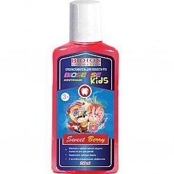 Ополаскиватель для полости рта детский 250мл Sweet Berry