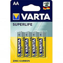 Батарейка VARTA SUPERLIFE R6 солевые 4шт блистер