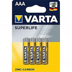 Батарейка VARTA SUPERLIFE R3 солевые 4шт блистер