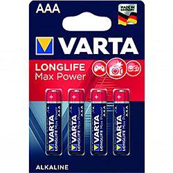 Батарейка VARTA MAX T./LONGLIFE MAX POWER R3 щелочные 4шт блистер