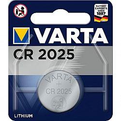 Батарейка VARTA CR 2025 щелочные 1шт блистер