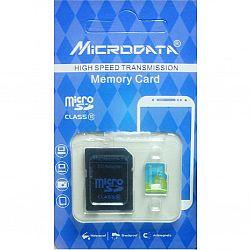 Карта памяти к телефону micro SDHC MICRODATA,32GB class 10(с адаптером). гарантия 1год
