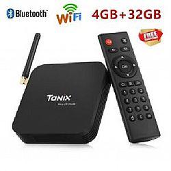 Смарт TV Андроид приставка Tanix TX6 память 4/32 ГБ