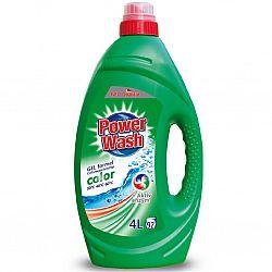 Гель для прання Power Wash 4 Л для кольорового (зел.)