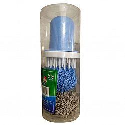 Губка кухонная Nano Clean ball для индукционных плит не царапает поверхность с держателем
