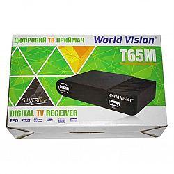 Т2 ресивер тюнер Т2 World Vision T65М