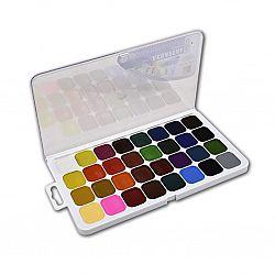 Акварель 32 цвета «Класика» пластик б/к Луч