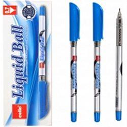 "Ручка масляная CELLO ""Liquid Ball"" CL-1167 синяя"