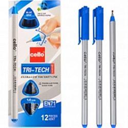 "Ручка масляная CELLO ""Tri-Tech "" синяя 1мм"