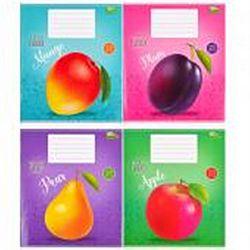 Тетр учен В5 18 лист.клетка Сочные фрукты 2957 20шт