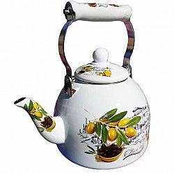 Чайник 2.0л эмалированный с керам.ручкой Zauberg 39/L Оливка